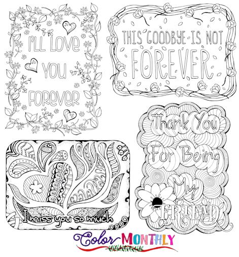 coloring pages on grief - photo#13