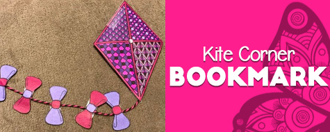 Kite Corner Bookmark Craft