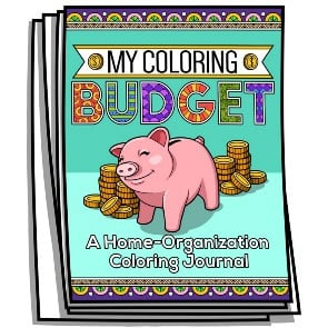 My Coloring Budget Journal