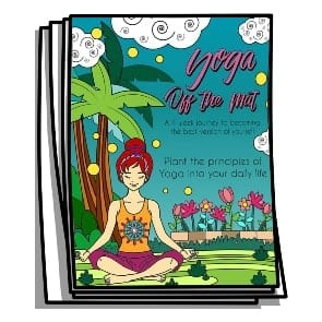 Yoga Off The Mat Coloring Journal