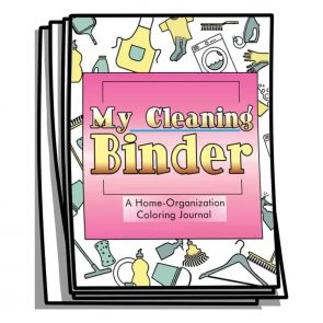 My Cleaning Binder Coloring Journal