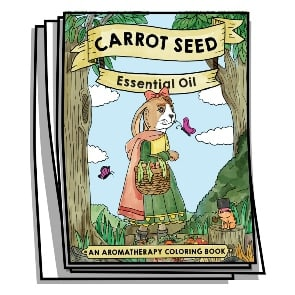 Carrot Seed Essential Oil Coloring Pages