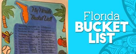Florida Bucket List Paper Craft