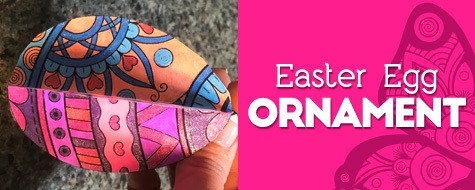 Easter Egg Coloring Project