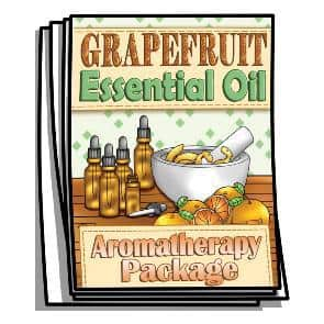 Grapefruit Essential Oil Coloring Pages