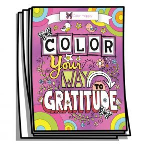 Color Your Way to Gratitude Coloring Journal