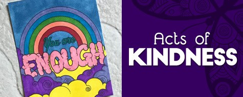 Acts of Kindness Coloring Cards
