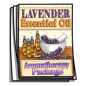 Lavender Essential Oil Coloring Pages