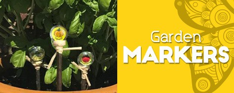 Color Your Own Garden Gem Markers