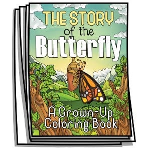 Story of the Butterfly Coloring Pages