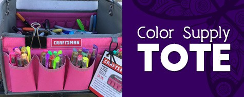 Color Supply Tote