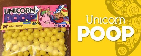 Unicorn Poop Coloring Craft