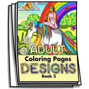 Adult Coloring Designs Book 3