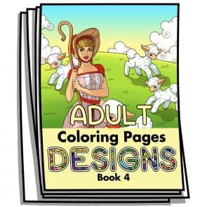 Adult Coloring Designs Book 4