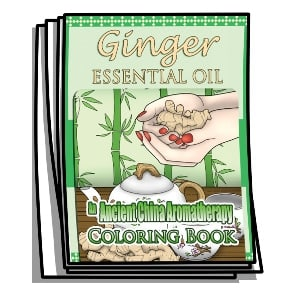 Ginger Essential Oil Coloring Pages