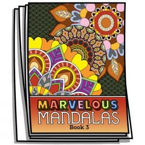 Marvelous Mandalas – Book 3
