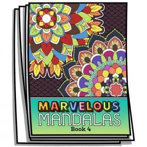 Marvelous Mandalas – Book 4