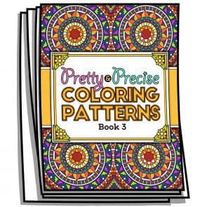 Pretty & Precise Coloring Patterns – Book 3