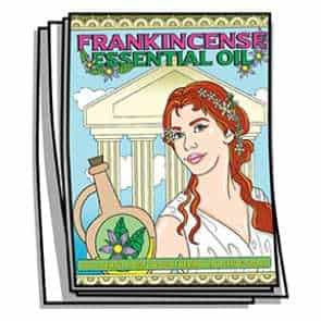 Frankincense Essential Oil Coloring Pages