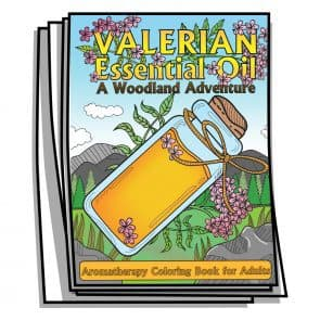 Valerian Essential Oil Coloring Pages