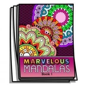 Marvelous Mandalas – Book 1