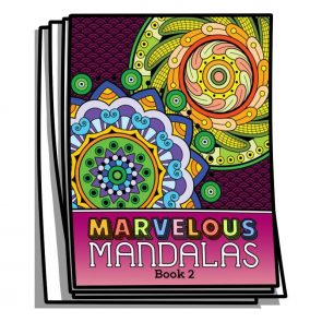 Marvelous Mandalas – Book 2