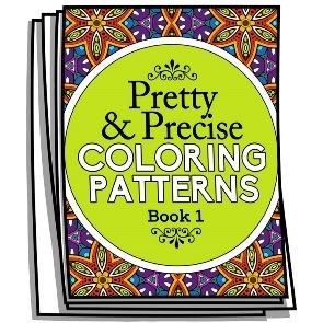 Pretty & Precise Coloring Patterns – Book 1