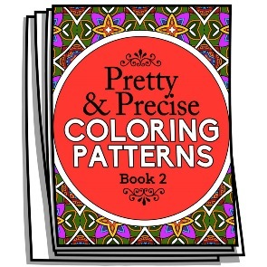 Pretty & Precise Coloring Patterns – Book 2