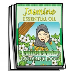 Jasmine Essential Oil Coloring Pages