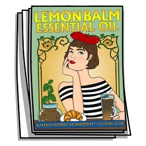 Lemon Balm Essential Oil Coloring Pages