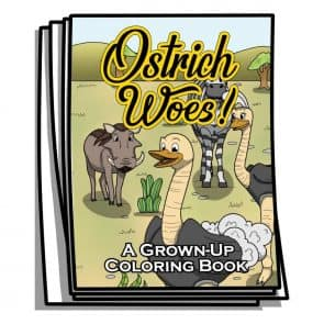 Ostrich Woes Coloring Pages