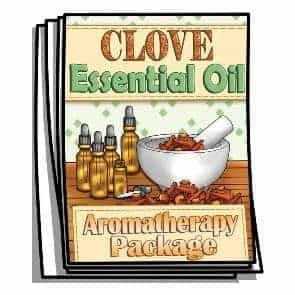 Clove Essential Oil Coloring Pages
