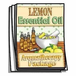 Lemon Essential Oil Coloring Pages