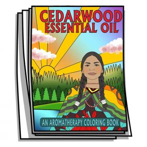 Cedarwood Essential Oil Coloring Pages