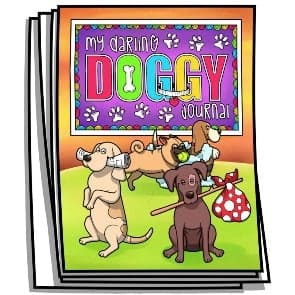 My Darling Doggy Coloring Journal