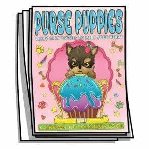 Purse Puppies Coloring Pages