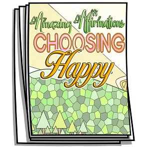 Choosing Happy Coloring Pages