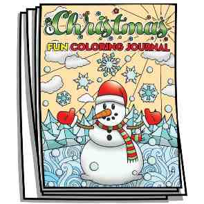 Christmas Fun Coloring Pages & Journal