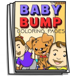 Baby Bump Coloring Pages