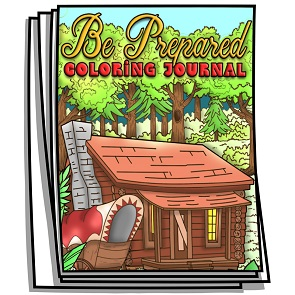 Be Prepared Coloring Journal