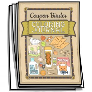 Coupon Binder Coloring Pages