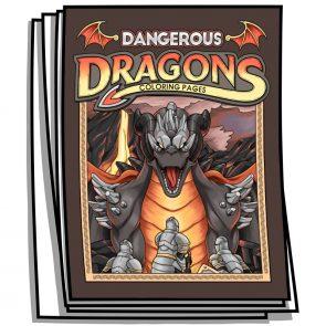 Dangerous Dragons Coloring Pages