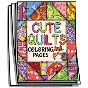 Cute Quilts Coloring Pages