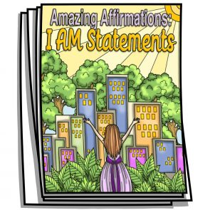 Amazing Affirmations – I AM Coloring Pages