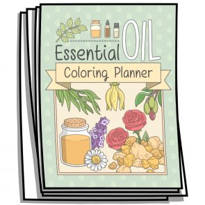 Essential Oil Planner Coloring Pages