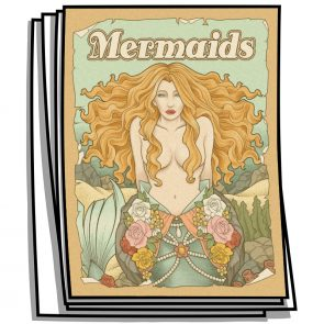 Mermaids Coloring Pages