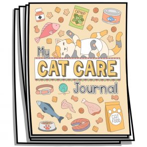 My Cat Care Coloring Planner