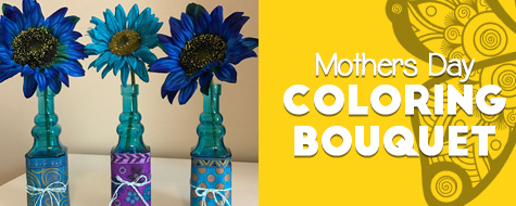 Mother's Day Bouquet Paper Craft