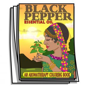 Black Pepper Essential Oil Coloring Pages
