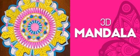 Magic Mandala Paper Craft